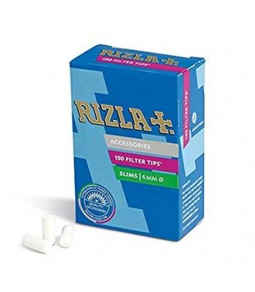 Filtri Rizla 6mm. in scatolina  conf.  10  astucci da 150 filtri