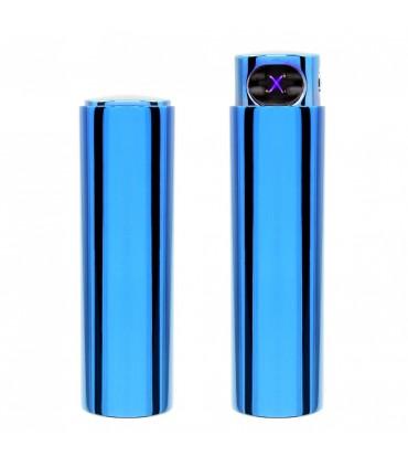Accendino Elettronico Cozy Antivento USB colore Blu confezionato in elegante scatola da regalo