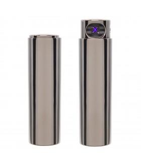 Accendino Elettronico Cozy Antivento USB colore Black Ice  confezionato in elegante scatola da regalo