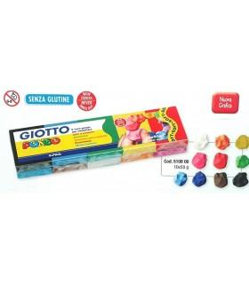 Giotto Pongo 50g 10 pz. colori assortiti
