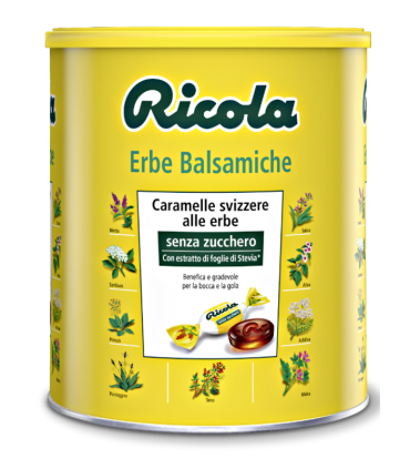 RICOLA BARATTOLO 1 KG. ERBE BALSAMICHE