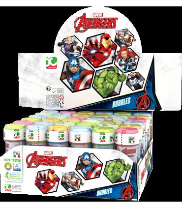 Bolle di sapone The Avengers da 60ml confez. 36 pz.