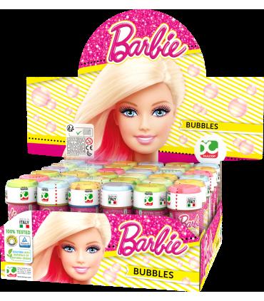 Bolle di sapone Barbie da 60ml confez. 36 pz.