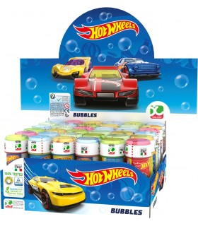 Bolle di sapone Hot Wheels  da 60ml confez. 36 pz.