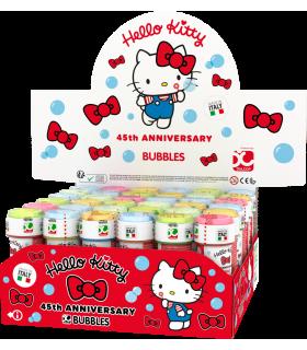Bolle di sapone Hello Kitty da 60ml confez. 36 pz.