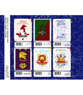 Biglietto Marpimar Compleanno Harry Potter con Glitter conf. 12 pz. assortiti