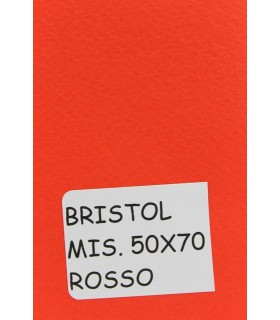 Bristol Favini misura 50x70 gr.200 rosso