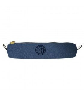 Mini portapenne Inter in Ecopellle con Zip