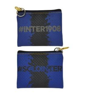 Portamonete Ecopelle  con Zip Inter