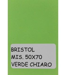 Bristol Favini misura 50x70 gr.200 verde chiaro