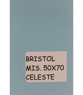 Bristol Favini misura 50x70 gr.200 celeste
