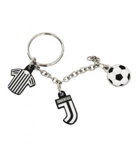 Portachiavi in metallo FC Juventus