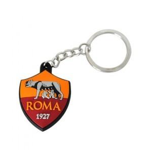 Portachiavi Roma Logo gommato