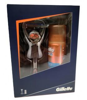 Rasoio Gillette Fusion5 Proglide  Flexball  con Gel da Barba Fusion 75 ml