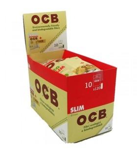 Filtri OCB Slim 6mm Biodegradanile con Cartina OCB conf. da 10 pz.