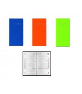 Agenda Settimanale mis.8x14 Mod. Nota Bene Disponibile in 3 colori