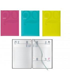 Agenda Giornaliera mis.14.5x20.5 Mod. Caocabana Disponibile in 3 colori