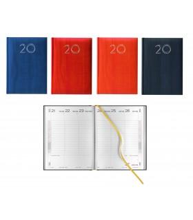 Agenda Settimanale mis.17x24 Mod. Vertigo Disponibile in 4 colori