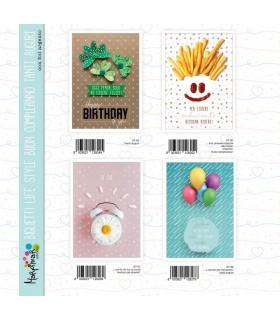 Biglietto Compleanno Marpimar Life Style conf. 12 pz. assortiti
