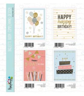 Biglietto Marpimar Compleanno Design conf. 12 pz. assortiti