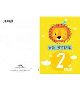 Biglietto Marpimar Compleanno 2 Anni conf. 6 pz.