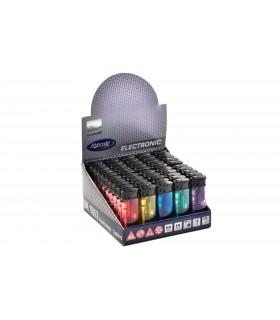 Accendino Elettronico Midi Atomic conf. 50 pz. assortito con 5 colori