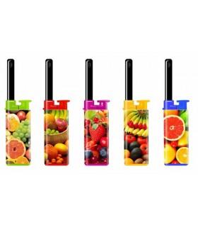 Accendigas Atomic BBQ Fruits Expo da 25 pz. assortito con 5 fantasie