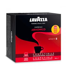 Capsule Lavazza Espresso Armonico Compatibili Nespresso conf. da 100 capsule