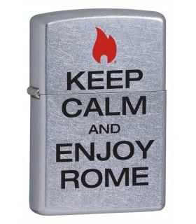 ACCENDINO ZIPPO KEEP CALM ROMA