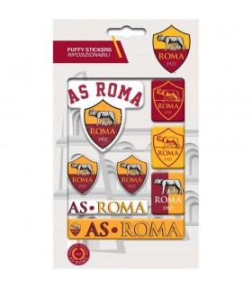 Stickers Adesivi A.S. Roma Puffy