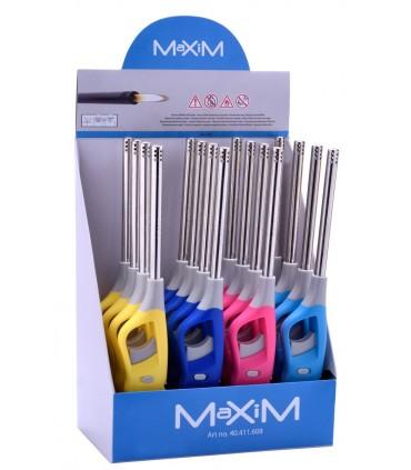 Accendigas Maxim Prof Fashion conf. 16 pz. colori assortiti