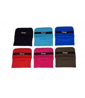 Busta Portatabacco Champ  in Tessuto morbido con Zip Expo da 12 assortito con 5 colori