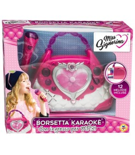 Borsetta Karaoke con Ingesso Mp3 Miss Signorina