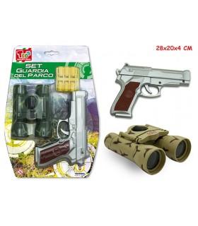 Set Guardia del Corpo con Binocolo e Pistola Disponibile in 2 modelli