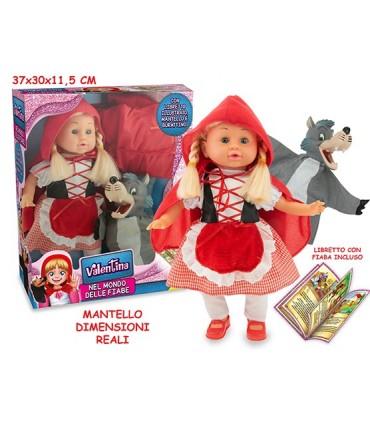 Bambola Valentina nel Mondo delle Fiabe