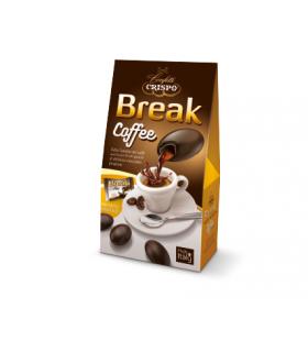 BREAK CRISPO PRALINE DI CIOCCOLATO RIPIENE DI LIQUORE AL CAFFE' ASTUCCIO 200 GR.