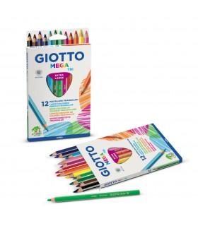Pastelli Giotto Mega Tri 12 pz.
