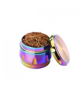 Grinder Champ in Metallo 4 Parti colore Rainbow