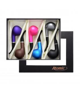 Pipa Atomic in metallo colorato Expo da 6 pz. colori assortiti
