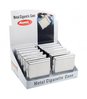Expo Portasigarette Atomic in Metallo Satinato Opaco Conf. 12 pz