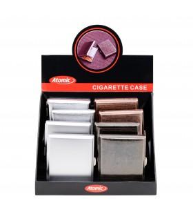 Portasigarette Atomic In Metallo Exquisite Expo da 8 pz. assortito con 4 colori