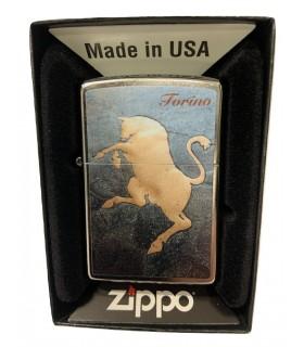 Zippo Gold Taurus Torino