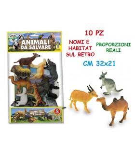 Busta Animali da Salvare 10 pz.