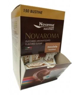 ZUCCHERO NOVAROMA AROMATIZZATO ALL'ANICE IN BUSTINA DA 5 g ESPOSITORE DA 150 BUSTINE