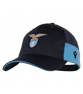 Cappello SS Lazio Baseball Macron con  Logo in Rilievo