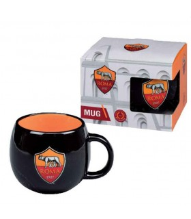 Tazza Ball in Ceramica AS Roma confezionata in scatola da regalo