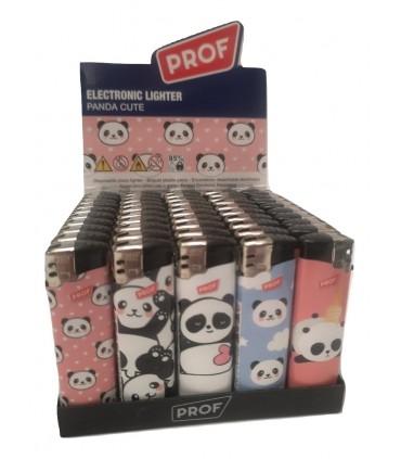 Accendino Elettronico Prof Cute Panda conf. 50 pz. assortiti con 5 fantasie