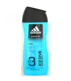 Doccia Gel Adidas 3in1 Ice Dive Marine  250ml
