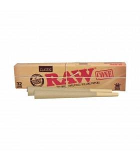 Coni Raw Prerollati Ks con Filtro classico conf. 32 pz.