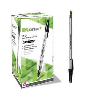 Penna a Sfera  CWR conf. da 50 pz. colore Nero
